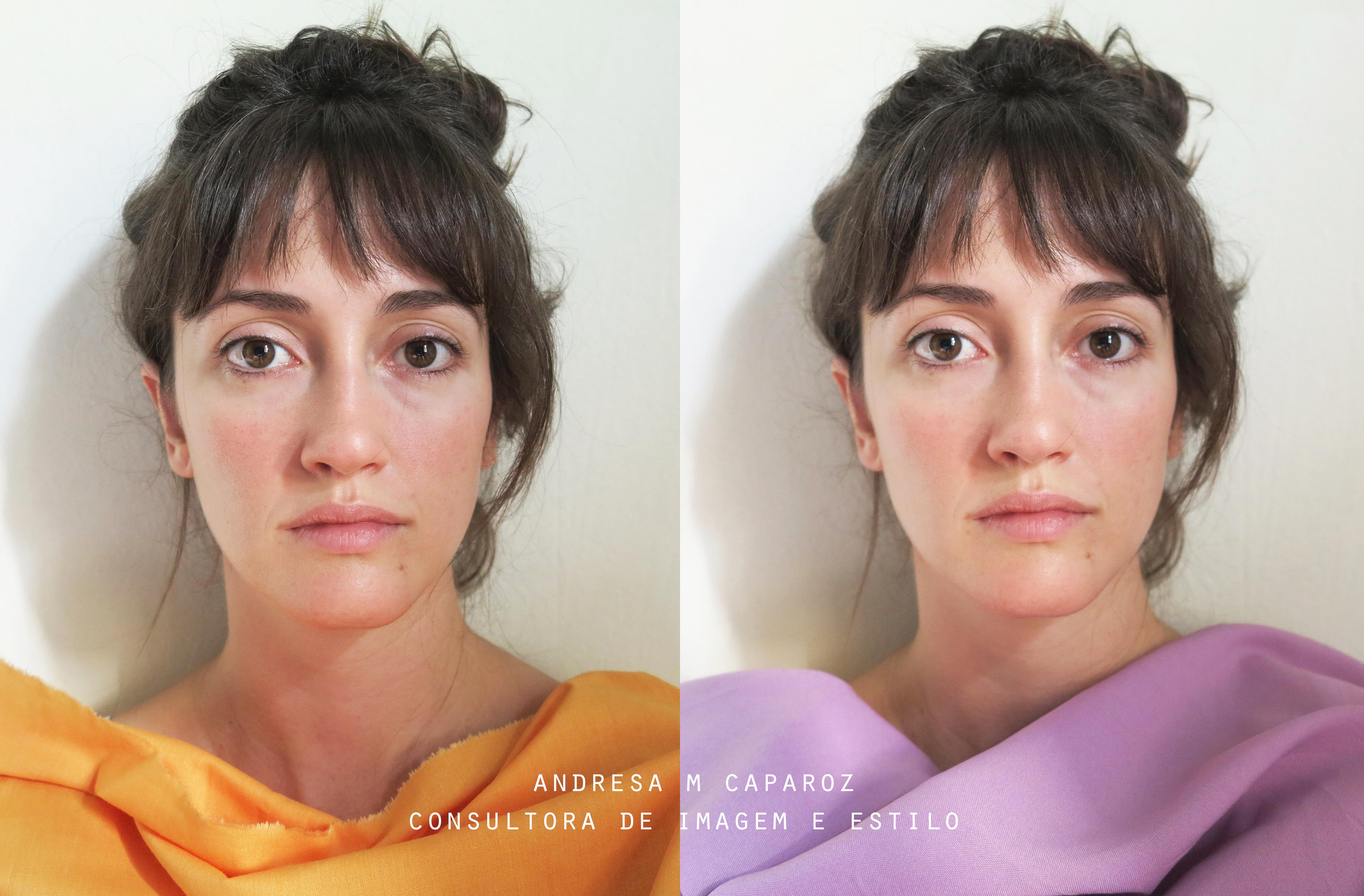 análise de coloração pessoal realizada pela consultora de imagem e estilo Andresa M Caparroz