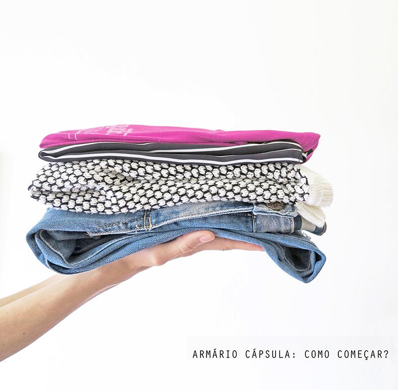 5 dicas de como iniciar a prática do guarda-roupa cápsula