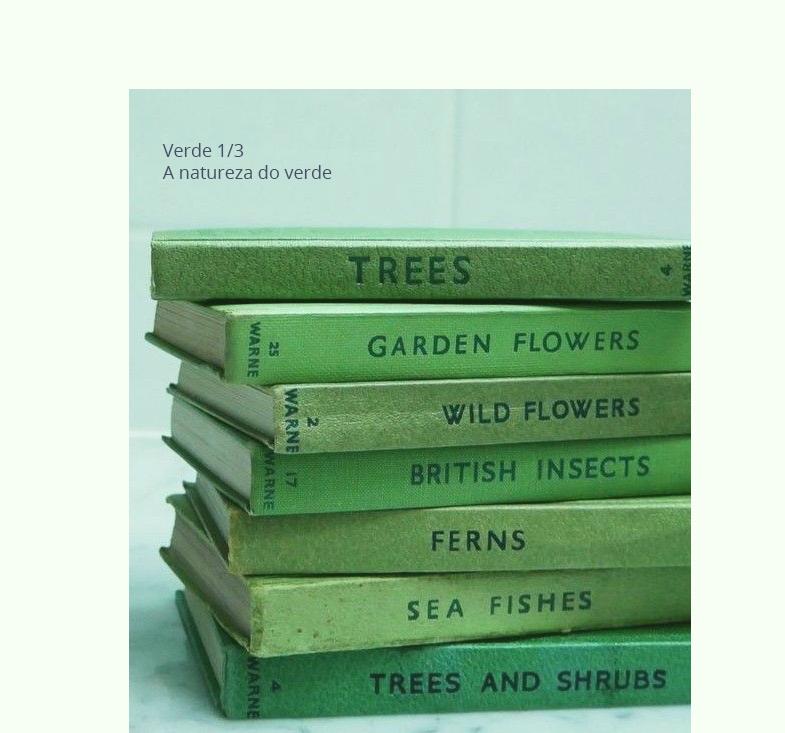Simbologia da cor verde, por Andresa Caparroz